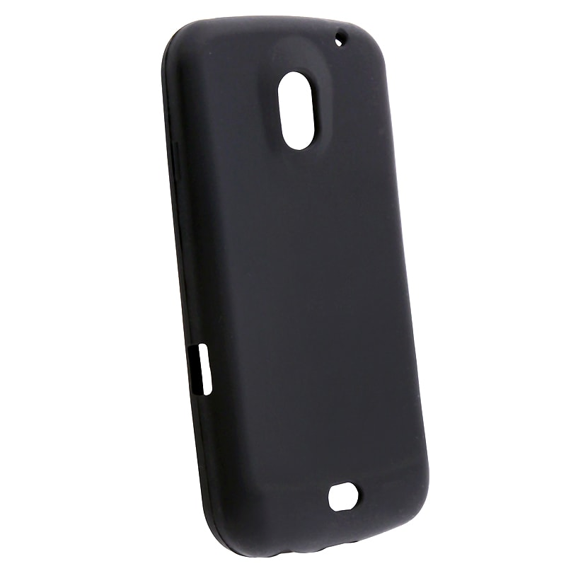 Black Silicone Skin Case for Samsung Galaxy Nexus i9250