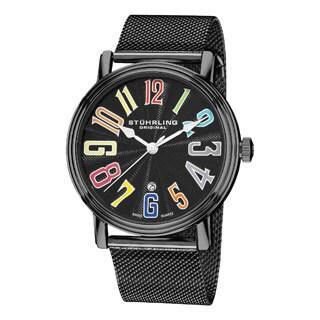Stuhrling Original Men's Roulette Elite Swiss Quartz Date Watch