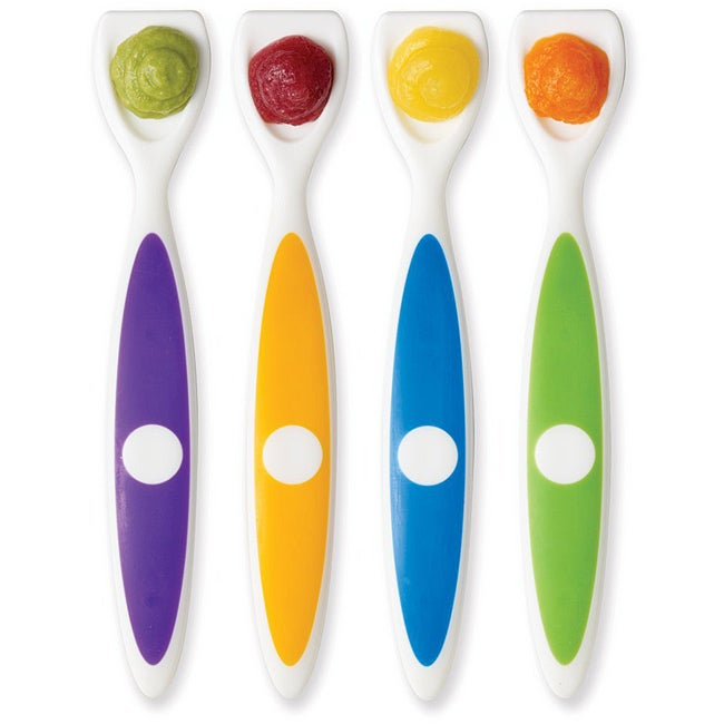 Dr. Brown's Long Spatula Spoons (Pack of 4)