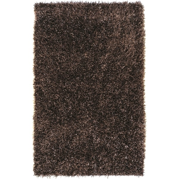 Hand-woven Edinburgh Soft Plush Shag Area Rug - 8' x 10'6