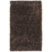 "Hand-woven Edinburgh Soft Plush Shag Area Rug - 8' x 10'6"""