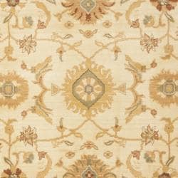 Safavieh Oushak Cream/ Gold Powerloomed Rug (4' x 5'7) - Thumbnail 2