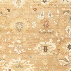 Safavieh Oushak Light Brown/ Light Brown Powerloomed Rug (9'6 x 13') - Thumbnail 2
