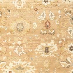 Safavieh Oushak Light Brown/ Light Brown Powerloomed Rug (9'6 x 13')