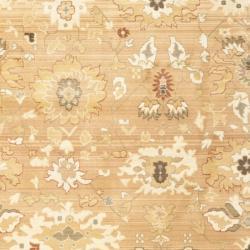 Safavieh Oushak Light Brown/ Light Brown Powerloomed Rug (8' x 11')