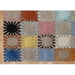 Alliyah Handmade Multicolored New Zealand Blend Wool Rug (4' x 6') - Thumbnail 2