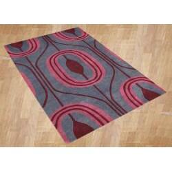 Alliyah Handmade Charcoal Gray New Zealand Blend Wool Rug (8' x 10')