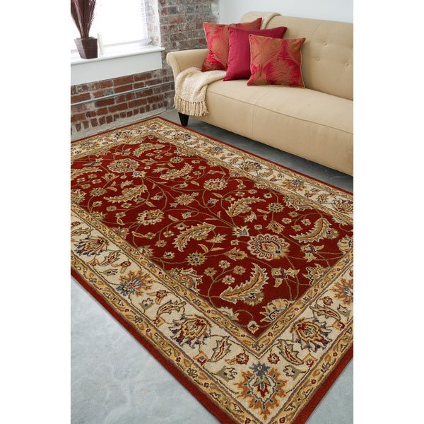 Hand-tufted Kerry Wool Area Rug (7'6 x 9'6)
