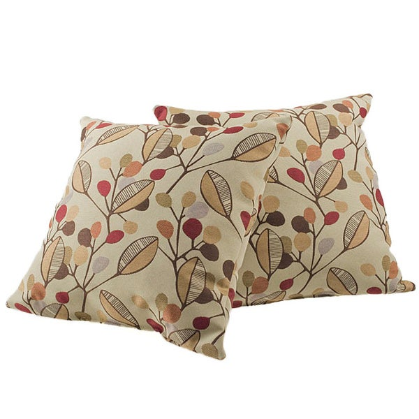 Laurel Square Decorative Pillows (Set of 2)