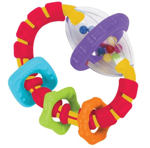 Bright Starts Grab and Spin Teether Toy