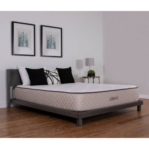 NuForm Elements Allure Talalay Latex Soft/ Medium/ Firm 11-inch Twin XL-size Mattress - Cream/Brown