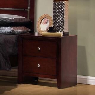Crispino Capuccino 2-drawer Nightstand