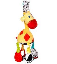 Bright Starts Sensory Giraffe Plush Toy