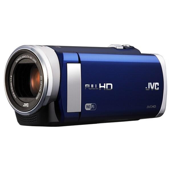 "JVC Everio GZ-EX210 Digital Camcorder - 3"" - Touchscreen LCD - CMOS -"