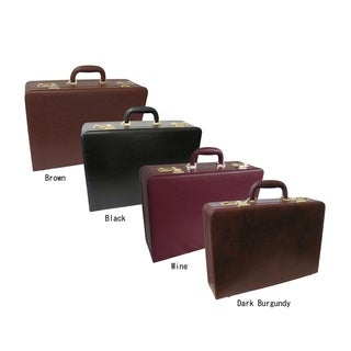 Link to Amerileather Executive Faux Leather Attache Briefcase Similar Items in Briefcases