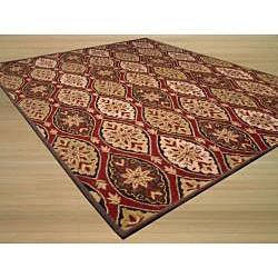 Hand-tufted 'Royal Baktyar' Wool Rug (7'9 x 9'9)