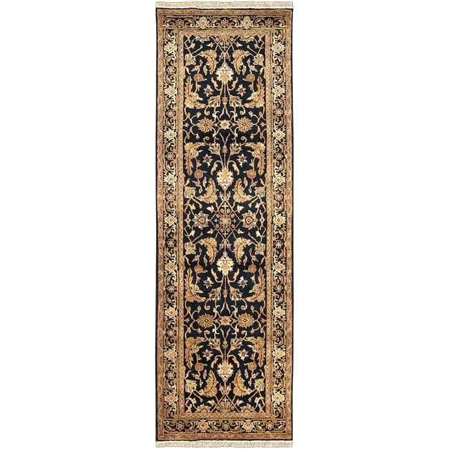 Hand Knotted Rila New Zealand Wool Rug (2'6 x 8')