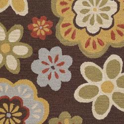 Hand Tufted Absaroka Wool Rug (5' x 7'6) - Thumbnail 1