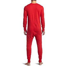 Hanes Men's Thermal Union Suit - Thumbnail 1