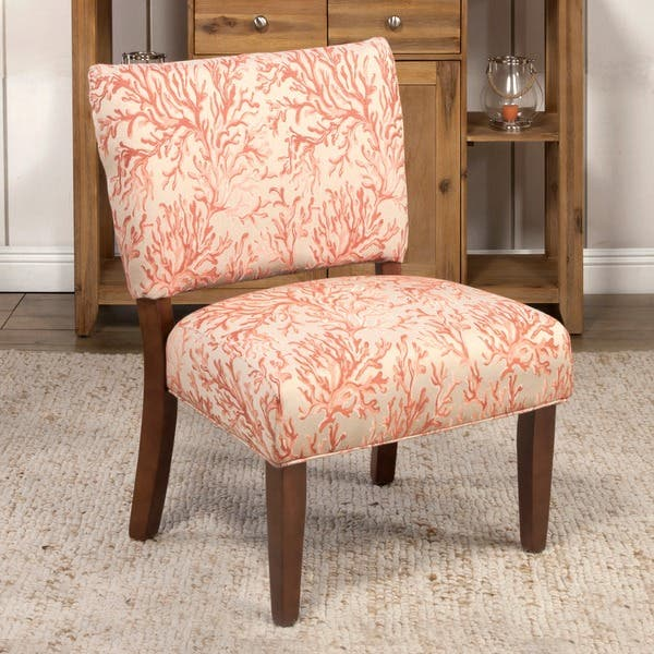 Astonishing Homepop Floral Fabric Gigi Accent Chair Evergreenethics Interior Chair Design Evergreenethicsorg