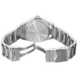 Grovana Men's 1571.2135 'Diver' Black Dial Blue Bezel Automatic Watch
