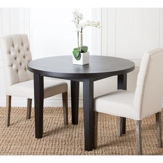 Abbyson Living Casablanca 42-inch Round Espresso Dining Table