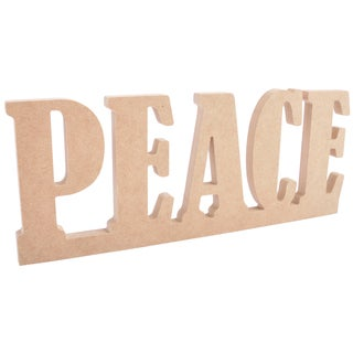 Beyond The Page 'PEACE' Standing Word Sign
