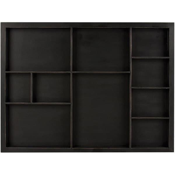 7 Gypsies Shadowbox Tray-Black