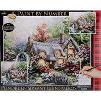 Plaid Paint By Number Kit - Cottage Mill