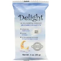 Paperclay 'Delight' Air Dry White Modeling Compound
