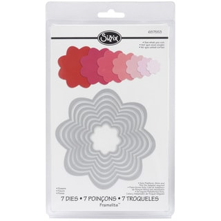 Sizzix Framelits Flower Die Cuts Package of 7