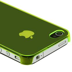 INSTEN Yellow Snap-on Slim-fit Phone Case Cover for Apple iPhone 4/ 4S