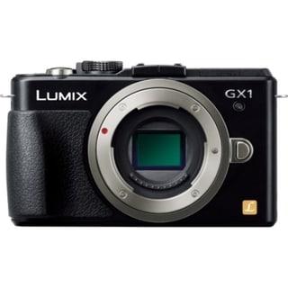 Panasonic Lumix DMC-GX1 16 Megapixel Mirrorless Camera Body Only - Bl