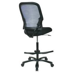 Big & Tall Double Dark Air Grid Back Drafting Chair