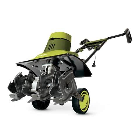 Sun Joe TJ601E 18-In 9 Amp Electric Garden Tiller/Cultivator