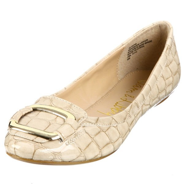Sam & Libby Women's 'Goal' Light Natural Flats