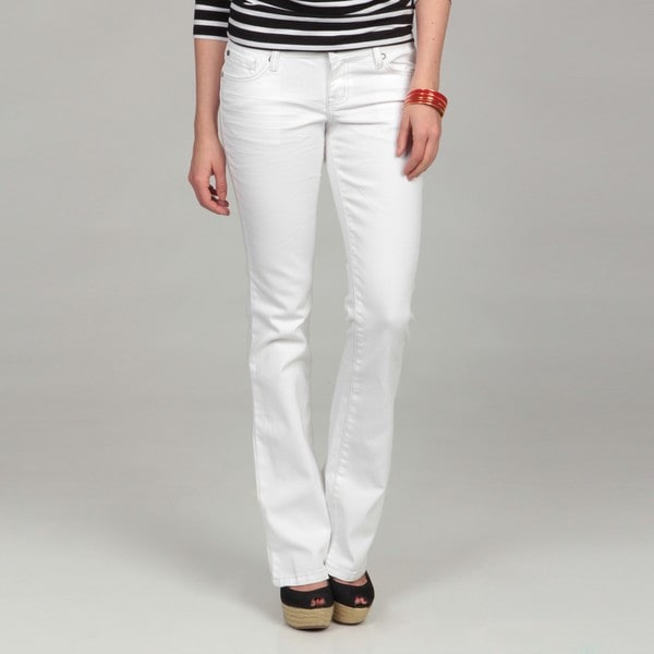 Jessica Simpson Junior&39s Forever Skinny White Jeans - Free