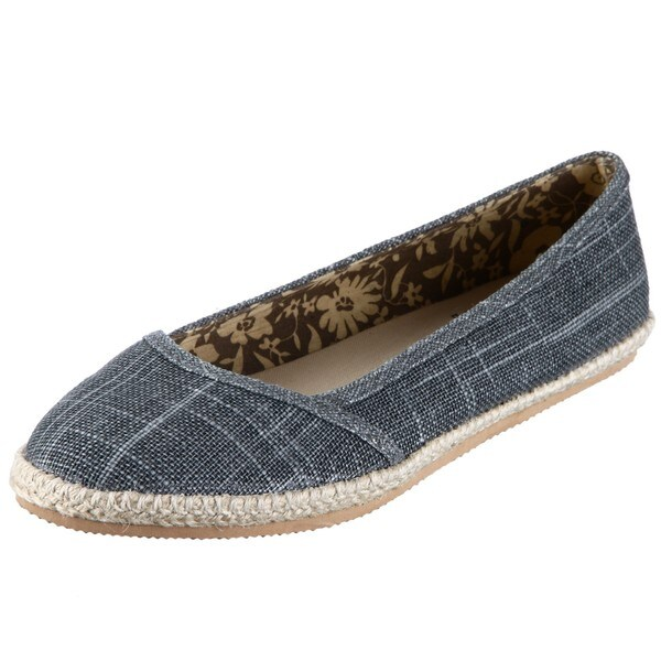 BC Footwear Women's 'Coffee with Cream' Gray Flats