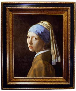 Vermeer - Girl with a Pearl Earring Framed Canvas (Option: Gold)|https://ak1.ostkcdn.com/images/products/645670/Vermeer-Girl-with-a-Pearl-Earring-Framed-Canvas-P943549.jpg?_ostk_perf_=percv&impolicy=medium