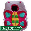 Butterfly Infant Car Seat Fleece Cover