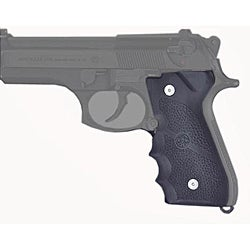 Hogue Beretta 92F/92FS/92SB/96/M9 with Finger Grooves Rubber Grip