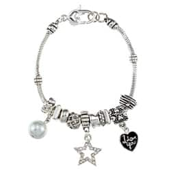 La Preciosa Silverplated 7.5-inch Shell Pearl Charm Bracelet https://ak1.ostkcdn.com/images/products/6457601/La-Preciosa-Silverplated-7.5-inch-Shell-Pearl-Charm-Bracelet-P14056178.jpg?impolicy=medium