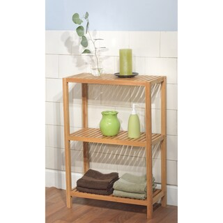 Simple Living Bamboo 3-Tier Shelf - Brown