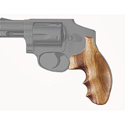 Hogue Smith & Wesson J-Frame Round Butt Goncalo Alves Wood Grip