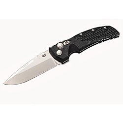 Hogue Tumble Black Finish 3.5-inch Drop Point Blade Hunting Knife