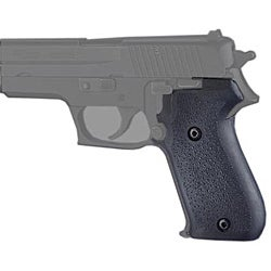 Hogue Sig Sauer P220 American .45 Rubber Grip - Thumbnail 0