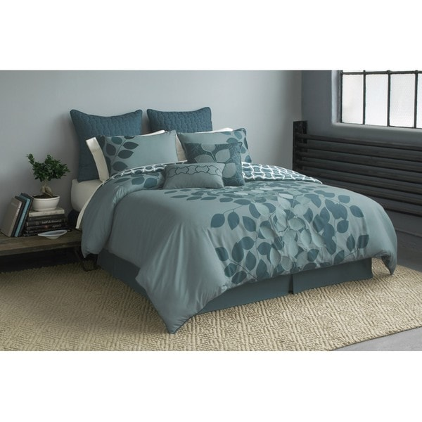 Alpine 8-piece King-size Comforter Set