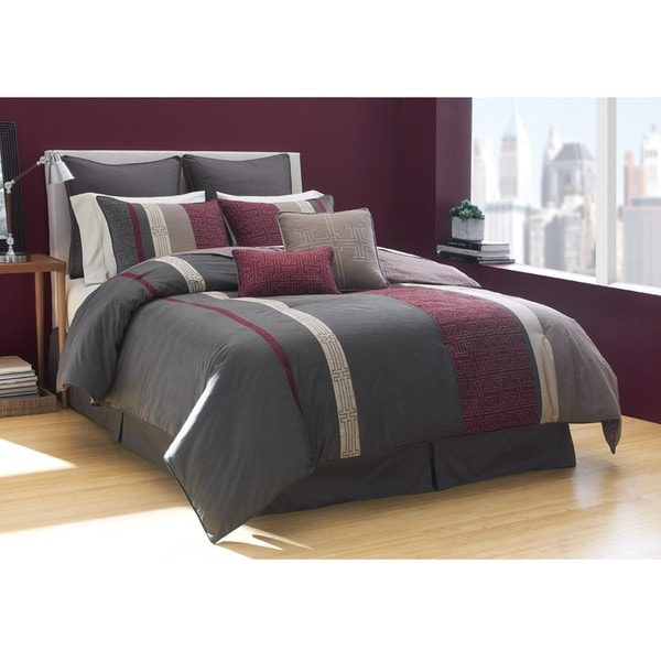 Bryce 8-piece King-size Comforter Set