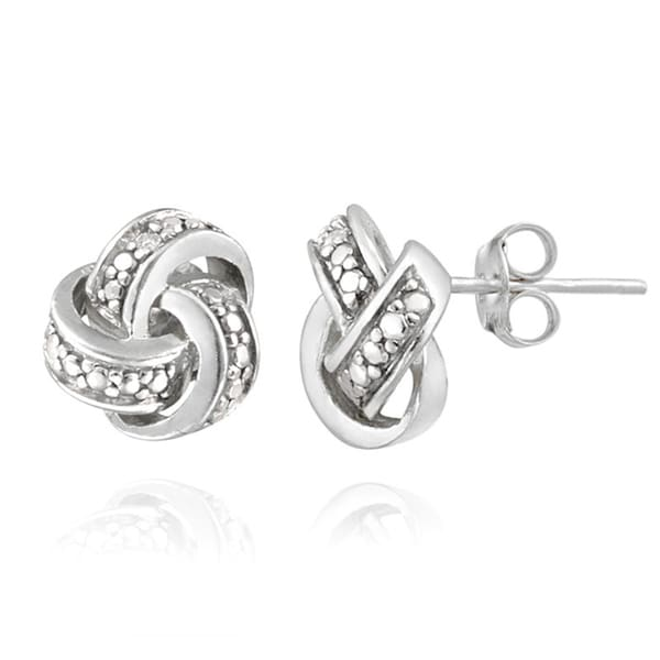 pandora knot love stud america luminous mall earrings knots of