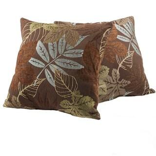 Maxwell Foliage Decorative Pillows (Set of 2)